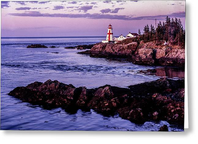 East Quoddy Head, Canada Greeting Card