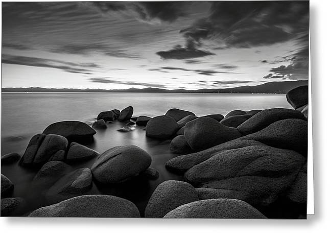 Greeting Card featuring the photograph East Shore Serenity - Lake Tahoe by Brad Scott
