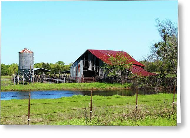 East Texas Barn Greeting Card