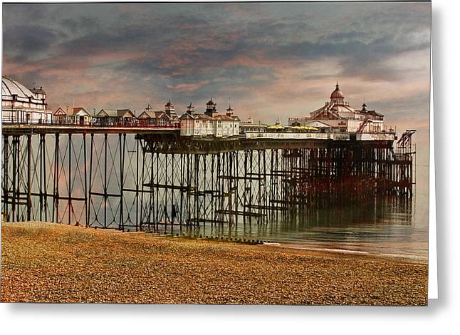 Eastbourne Pier Greeting Card by Chris Lord