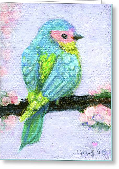 Easter Bird Greeting Card