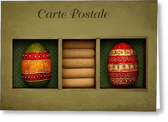 Easter Card Greeting Card by Heike Hultsch