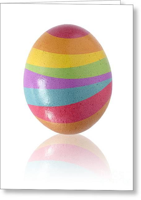 Easter Egg Greeting Card by Carlos Caetano