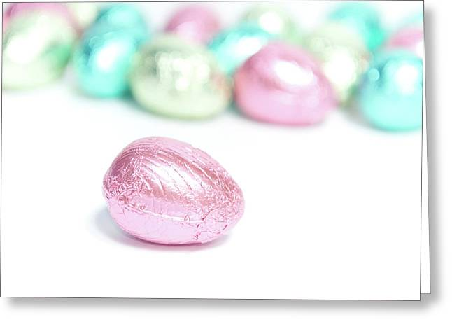 Easter Eggs II Greeting Card