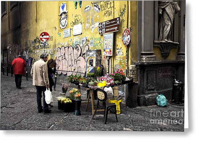 Easter Flowers In Naples Greeting Card
