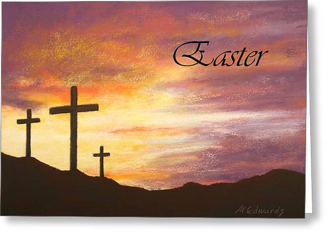 Jesus Pastels Greeting Cards - Easter Greeting Card by Marna Edwards Flavell