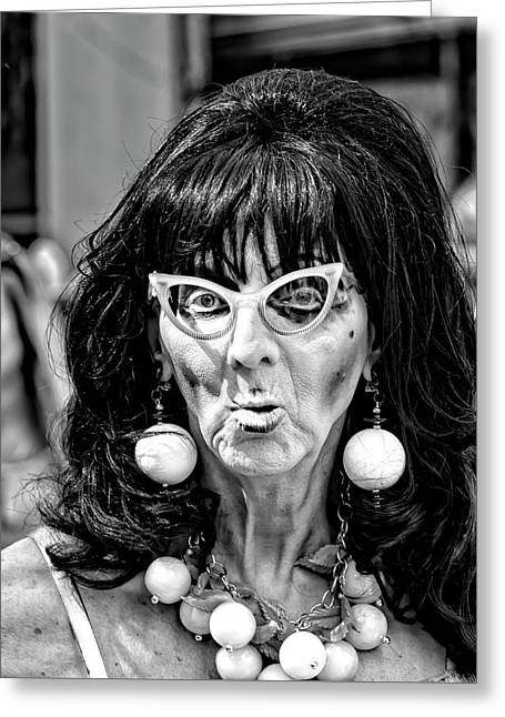Easter Parade Nyc 2017 Drag Queen Greeting Card