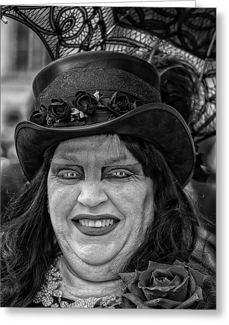 Easter Parade  Nyc  3_27_16 Grotesque 2 Greeting Card