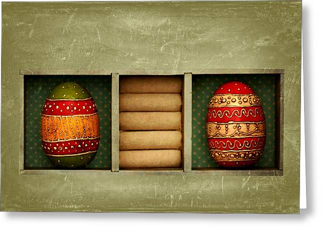 Easter Picture Greeting Card by Heike Hultsch