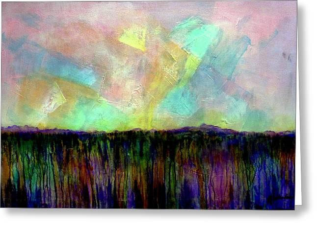Easter Daybreak - Art By Jim Whalen Greeting Card