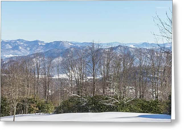 Easterly Winter View Greeting Card