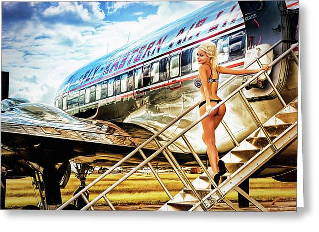 Eastern Airline Greeting Card