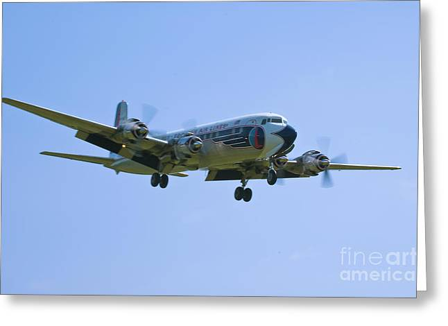 Eastern Airlines Dc-6 Greeting Card