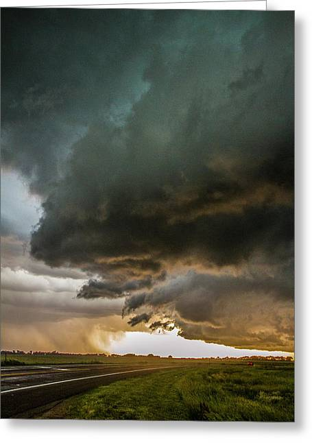 Eastern Nebraska Moderate Risk Chase Day Part 2 010 Greeting Card