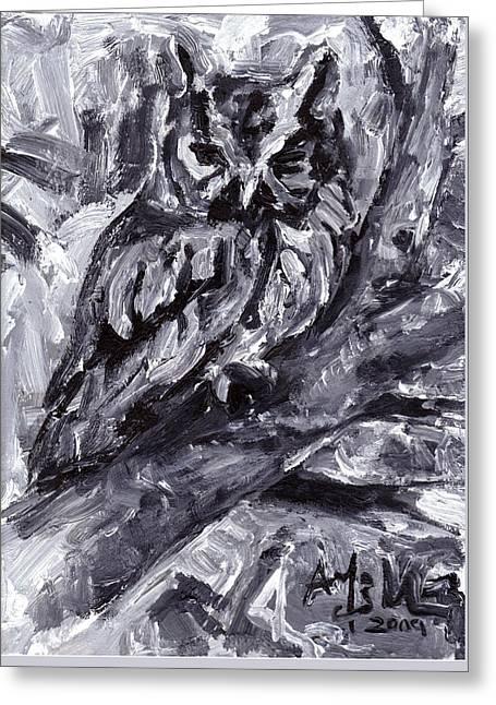 Eastern Screech-owl Greeting Card