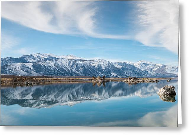 Eastern Sierra Nevada At Mono Lake Greeting Card by Joseph Smith