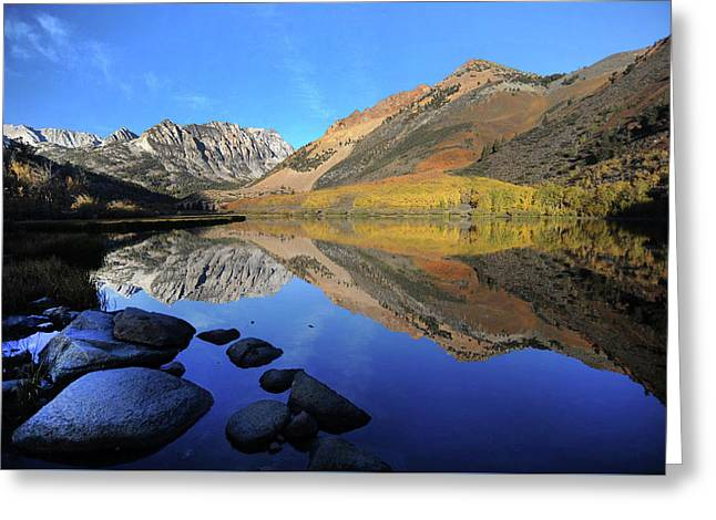 Eastern Sierra Reflection Greeting Card