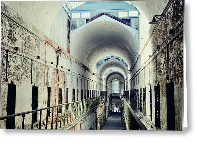 Eastern State Penitentiary Greeting Card by JAMART Photography