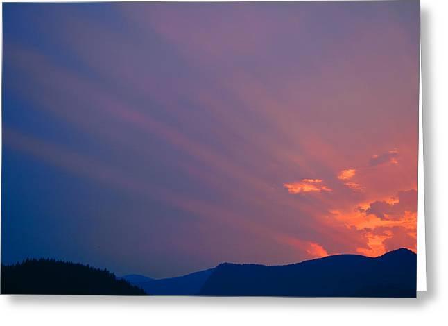 Eastern Sunrise Greeting Card