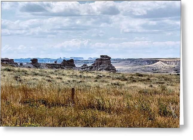 Eastern Wyoming Sky Greeting Card