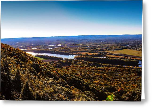 Easthampton View From Summit House Greeting Card