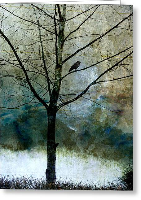 Eastward Greeting Card by Carol Leigh