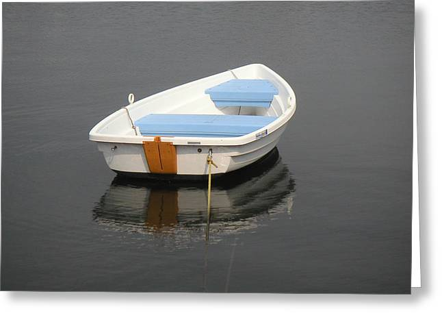 Easy Street Boat Basin Nantucket Ma Greeting Card