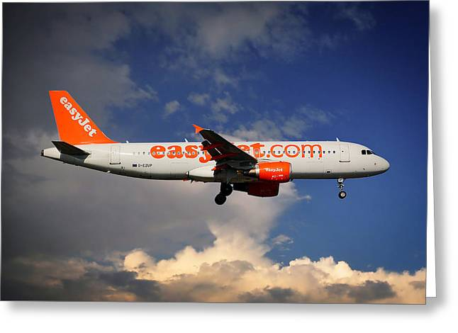Easyjet Airbus A320-214 Greeting Card