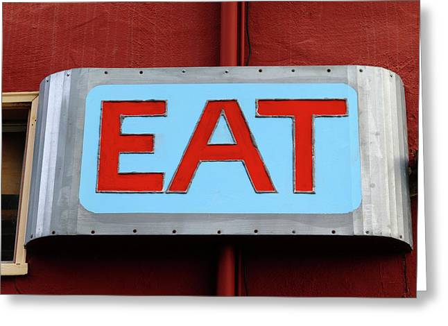 Eat Greeting Card
