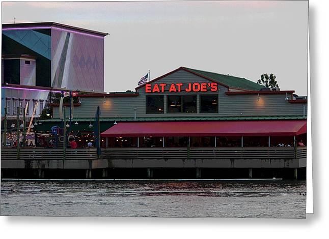 Eat At Joes Greeting Card