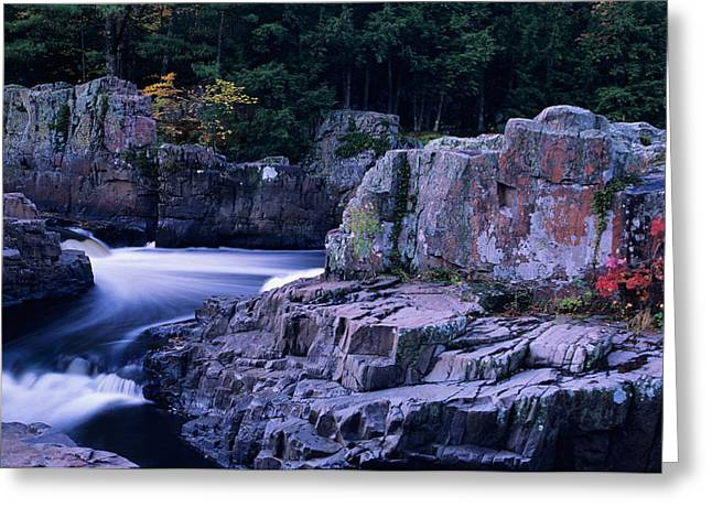 Eau Claire Dells 1 Greeting Card by Peter Skiba