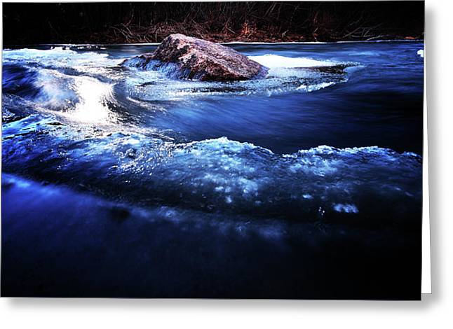 Ebb And Flow Greeting Card by Brian Gustafson