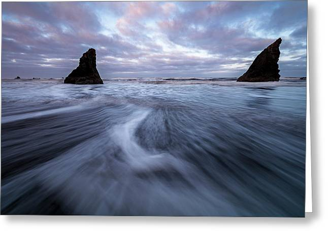 Greeting Card featuring the photograph Ebb And Flow by Mike Lang