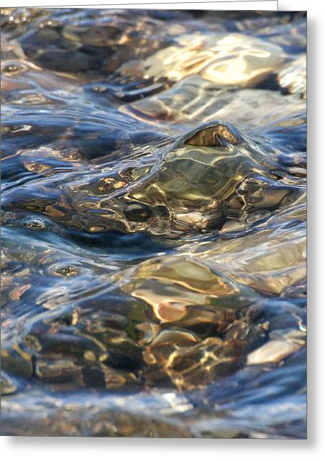 Ebbing Tide 1 Greeting Card