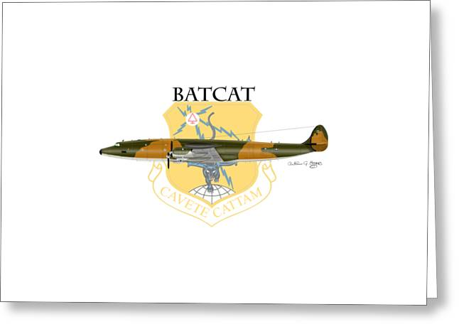 Ec-121r Batcatcavete Greeting Card
