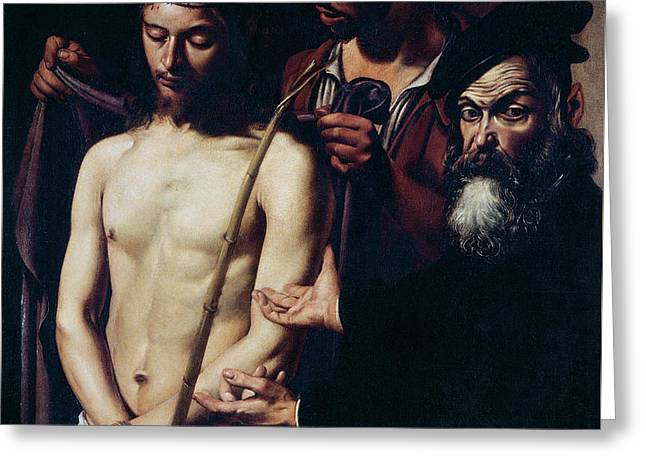 Ecce Homo, 1605 Greeting Card by Caravaggio