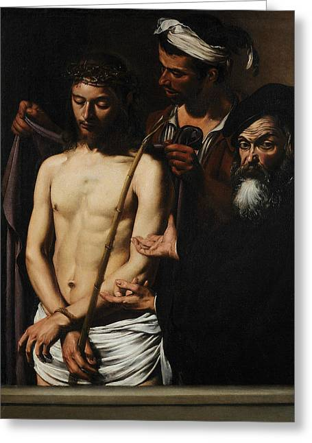 Ecce Homo  Greeting Card by Caravaggio