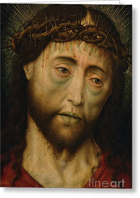 Ecce Homo Greeting Card by Flemish School