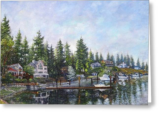 Echo Bay Three Greeting Card