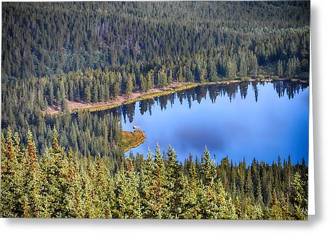 Echo Lake 7 Greeting Card by Angelina Vick
