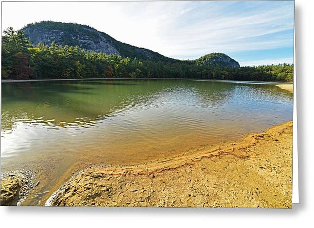 Echo Lake North Conway Nh Greeting Card by Toby McGuire