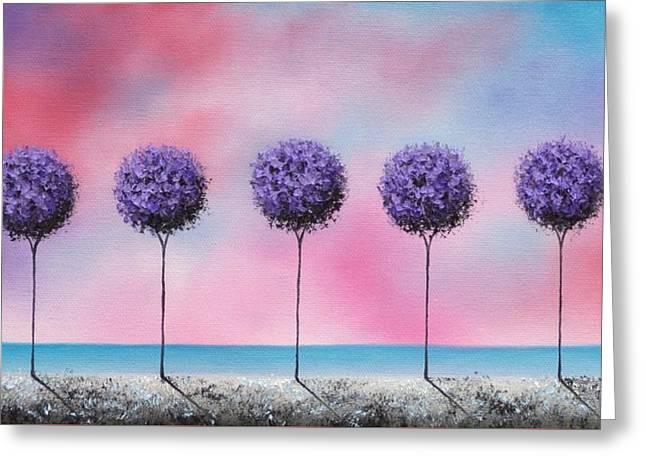 Echoes Of Summer Greeting Card by Rachel Bingaman