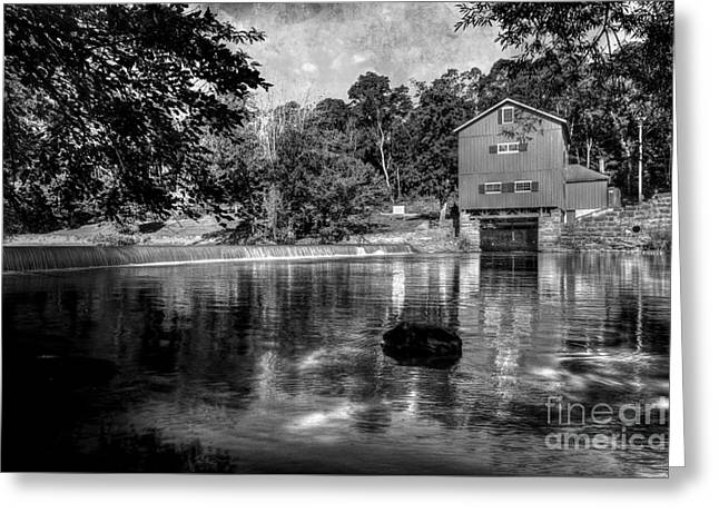 Echos Of The Past Keep Flowing Greeting Card by Michael Eingle