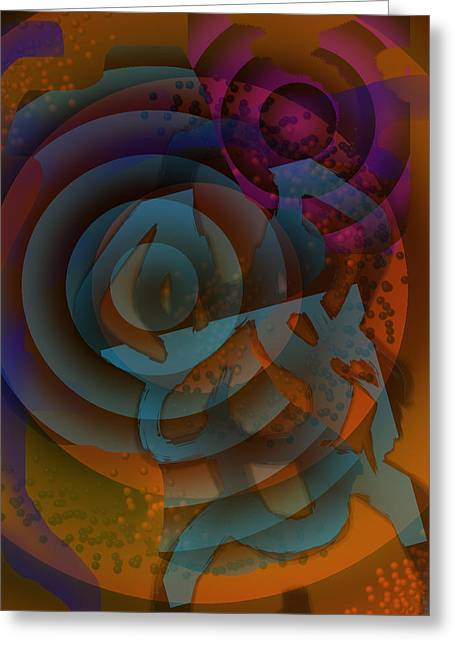 Eclectic Soul Zone Greeting Card