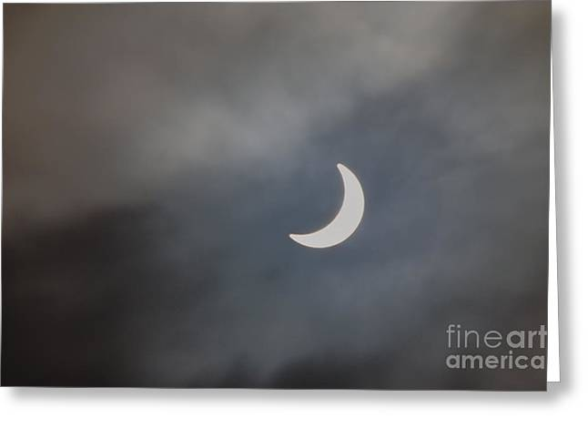 Greeting Card featuring the photograph Eclipse 2015 - 2 by Jeremy Hayden