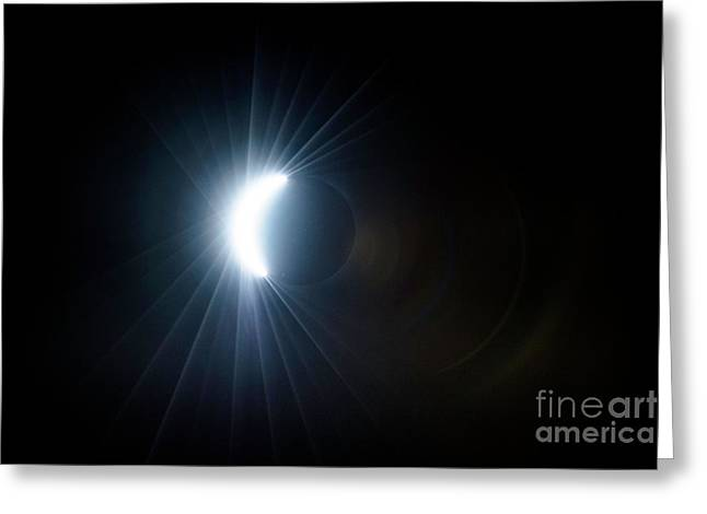 Eclipse Before Totality Greeting Card