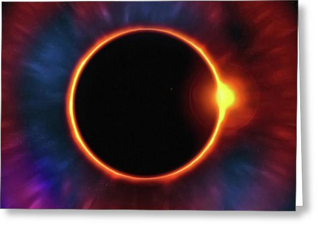 Eclipse Greeting Card