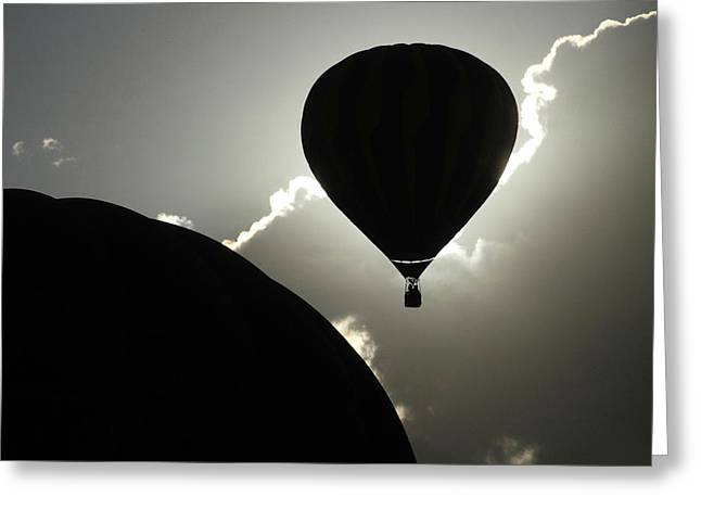 Eclipse Greeting Card by Marie Leslie