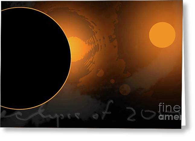 Eclipse Of 2017 W Greeting Card
