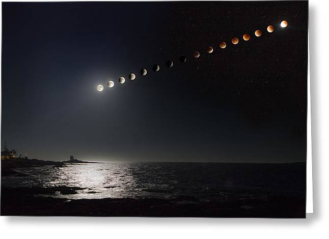 Eclipse Of The Moon Greeting Card